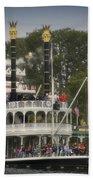 Mark Twain Riverboat Frontierland Disneyland Vertical Bath Towel
