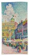 Market Of Verona Hand Towel