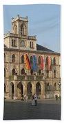 Market Place Weimar - Unesco Heritage Site Bath Towel