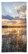 Marsh Sunrise Bath Towel