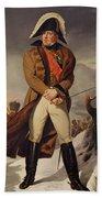 Marshal Michel Ney 1769-1815 Duke Of Elchingen Oil On Canvas Bath Towel