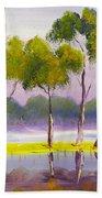 Marshlands Murray River Red River Gums Bath Towel