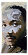 Martin Luther King Bath Towel