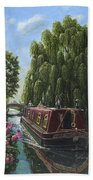 Mary Jane Chesterfield Canal Nottinghamshire Bath Towel