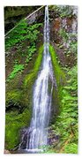 Marymere Falls - Full View Bath Towel