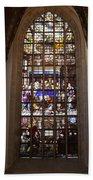 Mary's Deathbed Religious Art In Oude Kerk Bath Towel