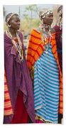 Masai Women Kenya Bath Towel