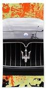 Maserati Granturismo I V Bath Towel