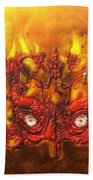 Masque Of The Red Death Bath Towel