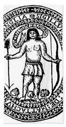 Massachusetts Bay Colonyseal, 1628 Hand Towel