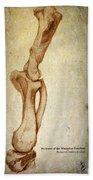 Mastodon Leg Bones Bath Towel