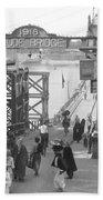 Maude Bridge In Baghdad Bath Towel