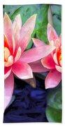 Maui Lotus Blossoms Bath Towel