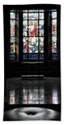 Mausoleum Stained Glass 05 Bath Towel