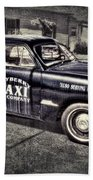 Mayberry Taxi Bath Towel