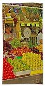 Mazatlan Centro Market-sinaloa Bath Towel