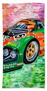 Mazda 787b.1991 Le Mans Winner. Bath Towel