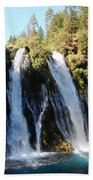 Mcarthur-burney Falls 1 Bath Towel