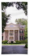 Mccormick Mansion From The Drive Bath Towel