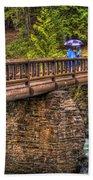 Mcdonald Creek Bridge Bath Towel
