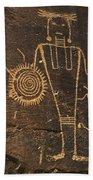 Mckee Ranch Petroglyphs Bath Towel