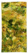 Meadow After Van Gogh Bath Towel