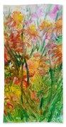 Meadow Flowers Bath Towel