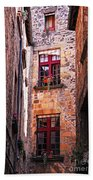Medieval Architecture Hand Towel