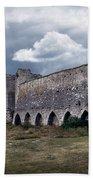 Medieval City Wall Defence Bath Towel