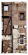 Medieval Houses In Albi France Hand Towel