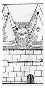 Medieval Still, C1500 Hand Towel