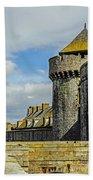 Medieval Towers Bath Towel