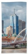 Melbourne Australia Bath Towel