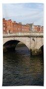Mellows Bridge In Dublin Bath Towel