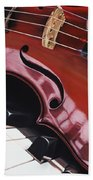 Melodic Reflections Hand Towel
