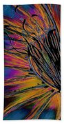 Melted Crayons Bath Towel