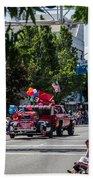 Memorial Day Parade In Grants Pass Bath Towel