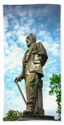 Memphis Elmwood Cemetery - Man With Cane Bath Towel
