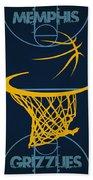 Memphis Grizzlies Court Hand Towel