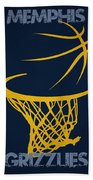Memphis Grizzlies Hoop Hand Towel
