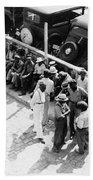 Memphis Unemployed, 1938 Bath Towel