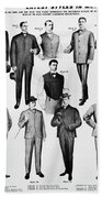Men's Fashion, 1902 Bath Towel