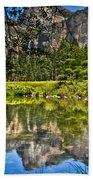 Merced River Yosmite Hand Towel