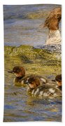 Merganser Lake Tahoe Bath Towel