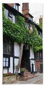 Mermaid Inn Rye Bath Towel