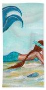 Mermaids Exist Bath Towel
