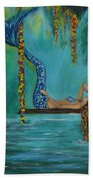 Mermaids Relaxing Morning Bath Towel