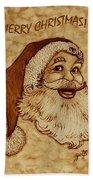 Merry Christmas 2 Bath Towel