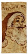 Merry Christmas 2 Bath Towel