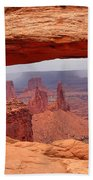 Mesa Arch In Canyonlands National Park Bath Towel